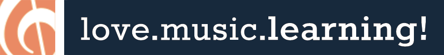 love.music.learning. Retina Logo